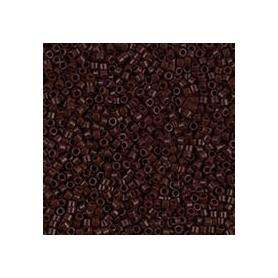Perle rocailles japonaises itoshii tube noir opaque - Rico Design