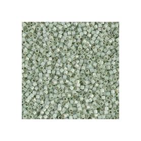 Perle rocailles japonaises itoshii tube  menthe transparente  - Rico Design