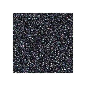 Perle rocailles japonaises itoshii tube gris nacré métallisé - Rico Design