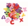 150 lettres en feutrines coloris assortis - Glorex
