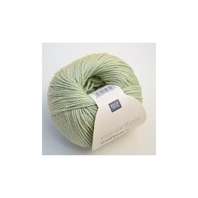 Pelote fil de coton essentials cotton dk foin Rico Design