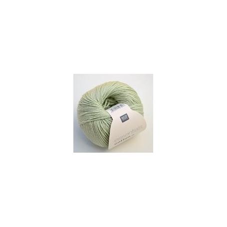Pelote fil de coton essentials cotton dk foin Rico Design