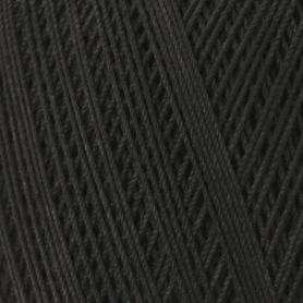 Coton mercerisé essential crochet noir 50g - Rico Design