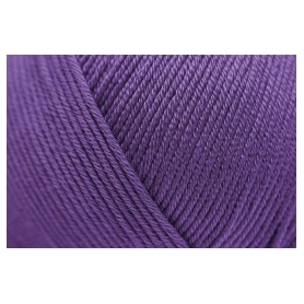 Pelote fil de coton essentials cotton dk violet Rico Design