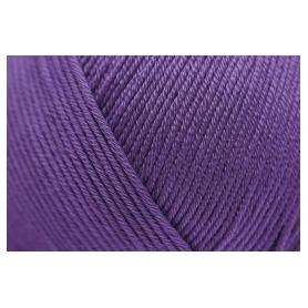 Pelote fil de coton essential cotton dk violet Rico Design