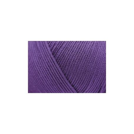 Pelote fil de coton essentials cotton dk violet Rico Design