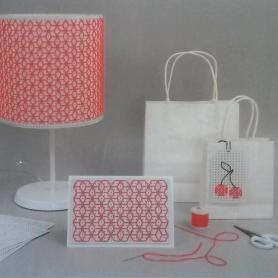10 cartons à broder blancs A5 - Rico Design