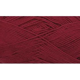 """Coton DK rouge cerise """"Créative cotton"""" de Rico Design"""