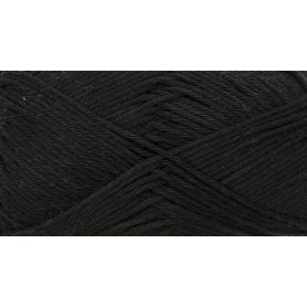 """Coton DK noir """"Créative cotton"""" de Rico Design"""