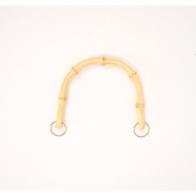 Anses en bambou pour sac à main - 15 x 12 cm