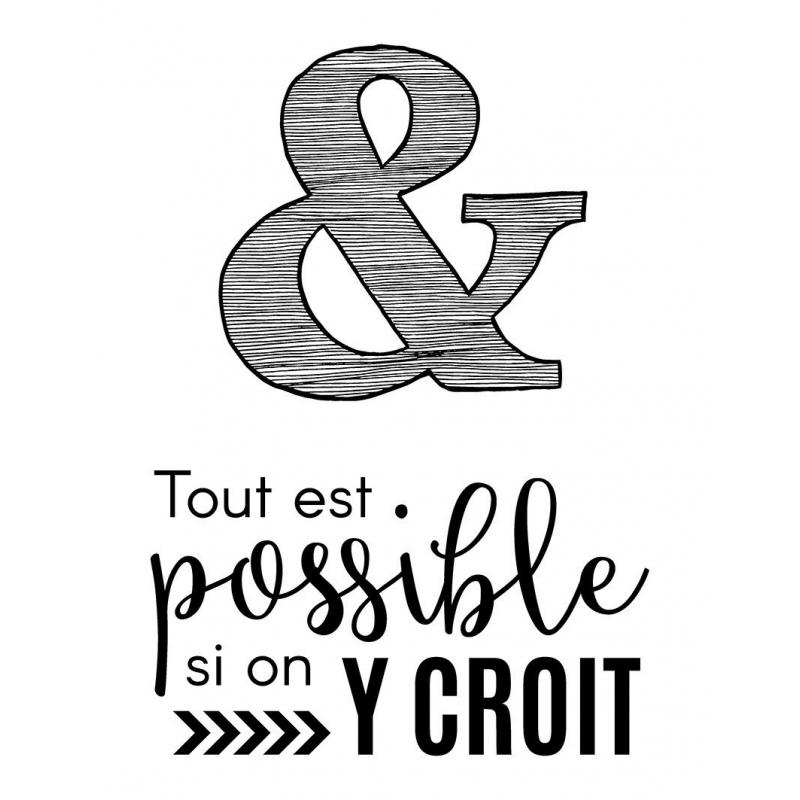 """Mini Tampons Clear """"tout est possible"""" - Artemio"""