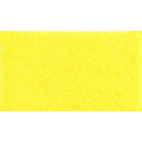 Feuille de feutrine jaune, 1 mm - Rico Design