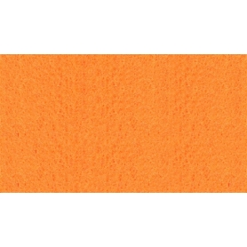 Feuille de feutrine orange, 1 mm - Rico Design