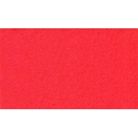 Feuille de feutrine rouge, 1 mm - Rico Design