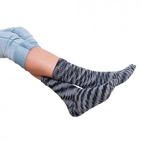 Kit chaussettes à tricoter granit Rico Design