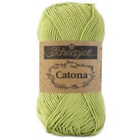 Scheepjes Catona 50 g citron vert 521