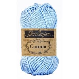 Scheepjes Catona 25 g bleu clair 173