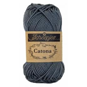 Scheepjes Catona 25 g bleu canard 401