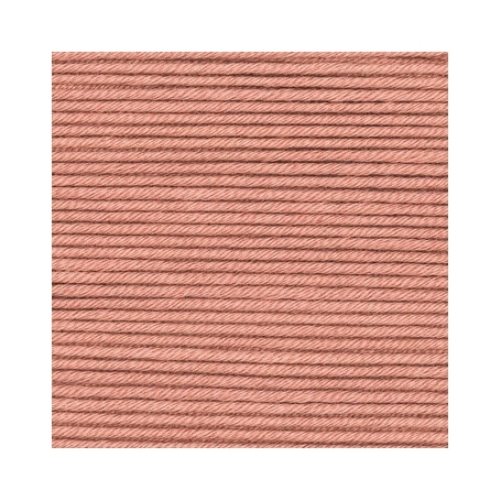 Pelote fil de coton essentials cotton dk bronze Rico Design