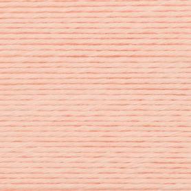"""Coton DK à crocheter saumon """"Créative cotton"""" de Rico Design"""
