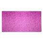 Tissu thermocollant pailleté rose 15 x 20 cm