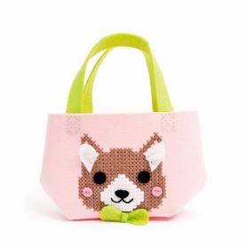 Kit sac feutrine chien - Rico Design