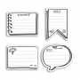 "Notes adhésives ""sticky notes"" pour bullet journal Toga"