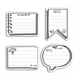 "Notes adhésives ""sticky notes"" pour bullet journal Toga"