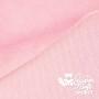 Coupon de tissu pour minky peluche rose - Kullaloo