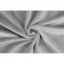 Coupon de tissu pour minky peluche gris - Kullaloo