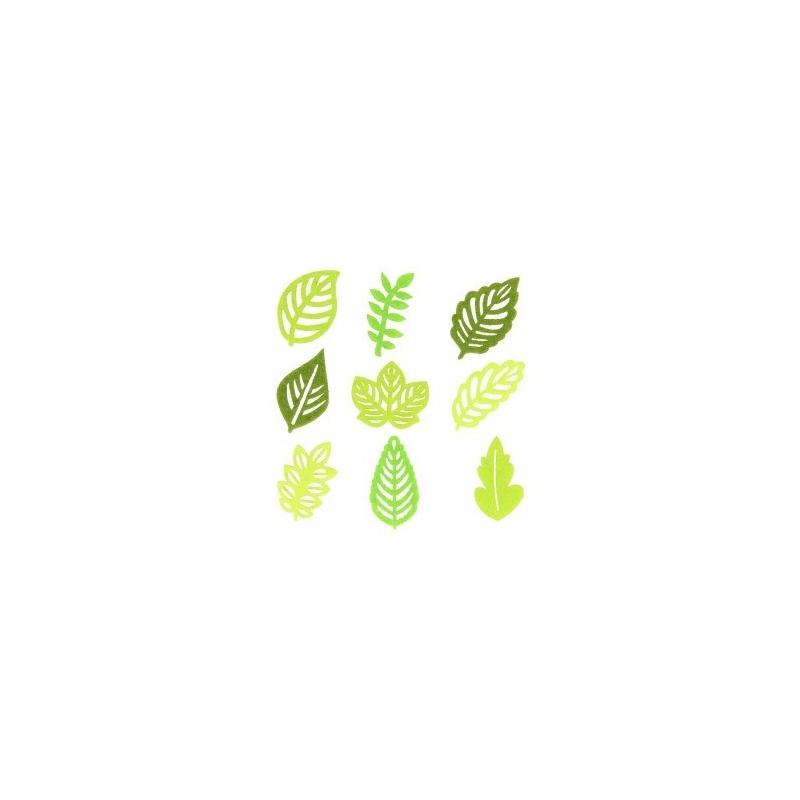 45 feuilles en feutrine découpée - Artemio