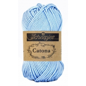 Scheepjes Catona 50 g bleu clair 173