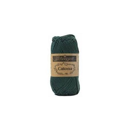 Scheepjes Catona 25 g vert sapin 525