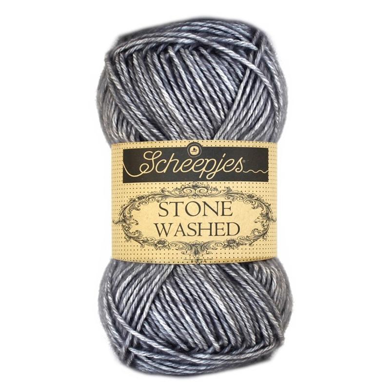 Pelote Stone washed de Scheepjes - 802