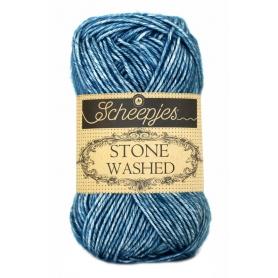 Pelote Stone washed de Scheepjes - Blue Apatite 805