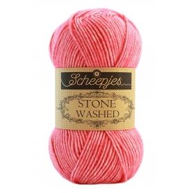 Pelote Stone washed de Scheepjes - Rhodochrosite 835
