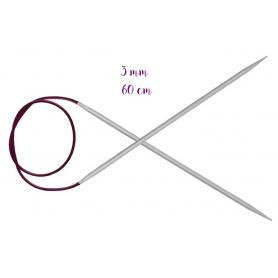 Aiguilles circulaires aluminium 3 mm Knit Pro
