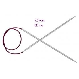 Aiguilles circulaires aluminium 2,5 mm Knit Pro