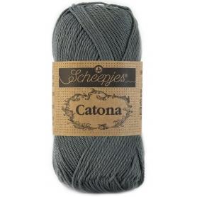 Scheepjes Catona 25 g gris anthracite 501