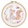 """Kit de broderie """"Bernard le renard"""" - Un chat dans l'aiguille"""
