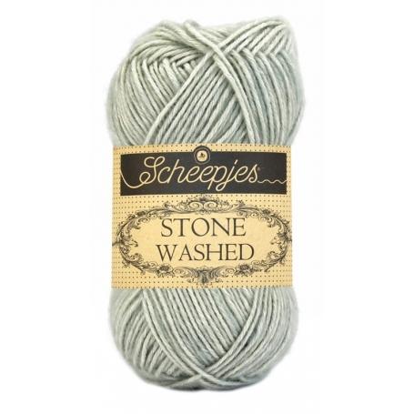 Pelote Stone washed de Scheepjes - Crystal Quartz 814