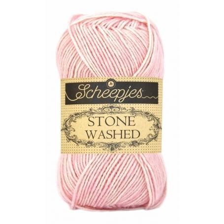 Pelote Stone washed de Scheepjes - Rose quartz 820