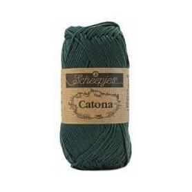 Scheepjes Catona 50 g vert sapin 525