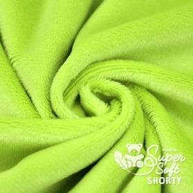 Coupon de tissu Minky pour peluche vert clair - Kullaloo