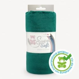 Coupon de tissu pour minky peluche vert - Kullaloo