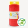 Coupon de tissu pour minky peluche rouge - Kullaloo
