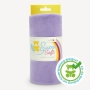 Coupon de tissu pour minky peluche parme - Kullaloo
