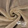 Coupon minky poils épais 5 mm beige - Kullaloo