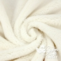 Coupon minky poils épais 5 mm ivoire - Kullaloo