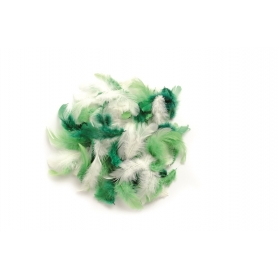 Lot de plumes assortiment vert - Glorex